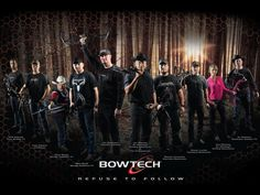 The Bowtech guys...and girl!!