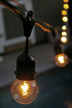 Construction Light String Custom Hanging Outdoor Party Lights  Pinterest  Initials Easy And Lights