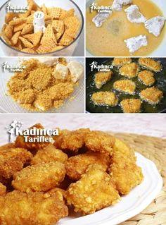 Gerçek Nugget Tarifi Fish Recipes, Pasta Recipes, Chicken Recipes, Turkish Recipes, Ethnic Recipes, Nuggets Recipe, Best Dinner Recipes, Food Blogs, Iftar