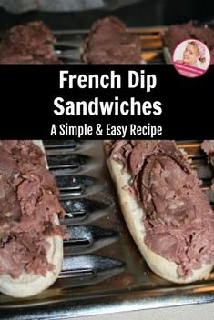 A Simple and Easy . Fancy Valentine's Dinner - French Dips A Slob Comes Clean, Dinner Sandwiches, French Dip, Menu Planning, Main Dishes, Dips, Easy Meals, Simple, Ethnic Recipes
