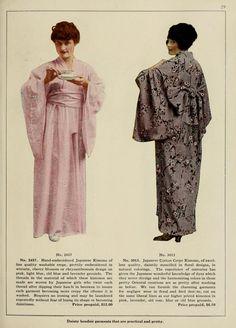 Vantine's, the oriental store. (1919) ~ ladies' Kimonos