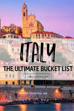 Traveling to Italy? This bucket list has the top 20 places to see in Italy and things to do in Italy, according to travel bloggers | Italy Travel Guide | Things to Do in Italy | What to see in Italy | Italy travel itinerary | First Time Travel to Italy | Where to Eat in Italy | #italy #travel #europe via @thebellevoyage