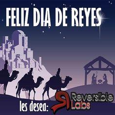 Feliz día de Reyes, les deseamos desde Reversible Labs. Primer lunes del año, así que animos.