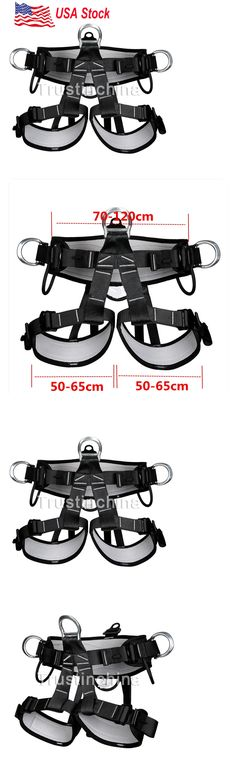 Harnesses 50815: Pro Tree Carving Fall Protection Rock Climbing Equip Gear Rappelling Harness Us -> BUY IT NOW ONLY: $54.36 on eBay!
