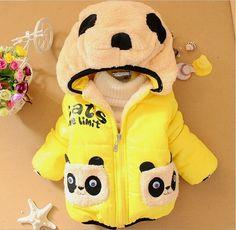 Yellow Panda Baby Boys Outerwear Coat  #baby #babyboy #babyboyclothing #babyclothes     🐤Valuable high-quality baby products #babytibet