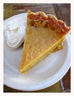 Sweet Tea Pie (from Austin's Taff Mayberry of Olivia & Lucy's)