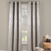 Found it at Wayfair - Lia Curtain Panel in silver