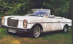 Image result for Mercedes w114 convertibles