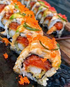 Cute Food, I Love Food, Good Food, Yummy Food, Sushi Recipes, Healthy Recipes, Food Obsession, Food Goals, Aesthetic Food