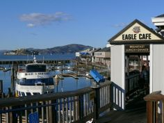 Fisherman's Wharf - Eagle Cafe - ate here with Hubby - loved watching the boats.  Well worth the trip down if you are in San Fran