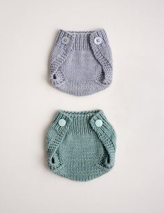 Kid knits: Free knitting patterns for babies - Knitted diaper cover