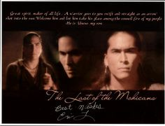 Eric Schweig - THE LAST OF THE MOHICANS