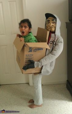Kidnapped! - cool costume idea
