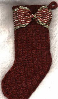 Quick 'n Easy Christmas Stocking