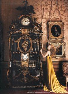 Clock - Photographed by Mario Testino