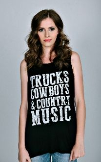 Country Crystallized Tank Top