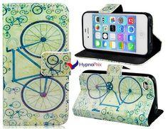 Housse de protection simili cuir modèle vélo pour l'iPhone 4 s/4