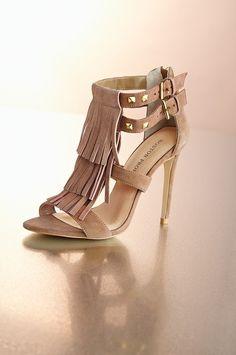 Boston Proper- size 7 , fringe sandal #bostonproper