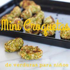 Mini-Croquetas de verduras para niños | Blog de BabyCenter
