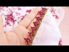 1073- Herkesin çok sevdiği şahane bir oya - YouTube Floral Tie, Make It Yourself, Diamond, Accessories, Jewelry, Youtube, Jewlery, Jewerly, Schmuck