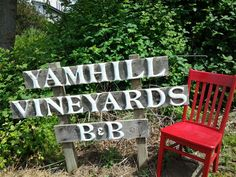 Yamhill Vineyards Bed & Breakfast Yamhill, OR May 6-12th, 2015 - See more at: http://www.redchairtravels.com/may1.html#sthash.UkbIPHma.dpuf