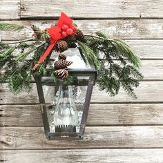 """284 Likes, 7 Comments - Bevolo Gas & Electric Lights (@bevolo) on Instagram: """"With an added touch of Christmas #regalia, our #FrenchQuarter lantern is ready to #lightup the…"""""""