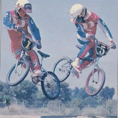 """Team robinson. Old school bmx..as I recall the tag line in the photo was """"clicking heels"""" strange what we remember..."""