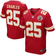 Jamaal Charles Kansas City Chiefs Nike Elite Jersey – Red