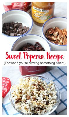 Simple & delicious sweet popcorn w/ the @HamiltonBeachCA #HotAirPopcornPopper Machine