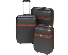 Image for Three Hard-Shelled Wheeled Suitcases from Scotts of Stow