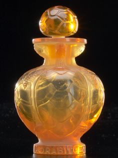 """LALIQUE """"No. 7,"""" rare perfume bottle for Morabito"""