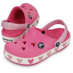 Crocs Crocband Mickey II Clogs - Toddler Girls' - 2013 Closeout