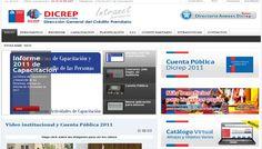 Intranet de Dicrep #joomla #web #webmaster #pr #emprendedores #chile