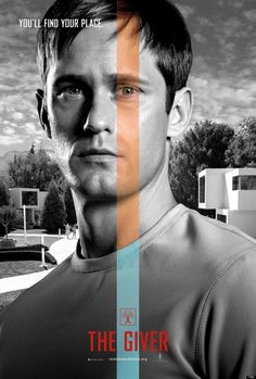 See Alexander Skarsgard's Poster For 'The Giver'