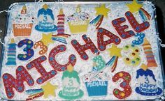 Michael's 3rd Birthday Cookies | Flickr - Photo Sharing!
