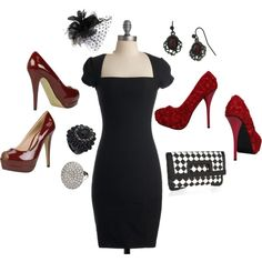 Classy with tasteful touches., created by molson220.polyvore.com