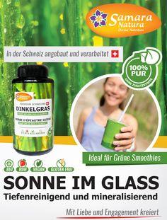 Neues Schweizer Superfood Ur-Dinkel-Graspulver Samara, Superfood, Smoothie, Roh Vegan, Gras, Blog, Swiss Guard, Health, Smoothies