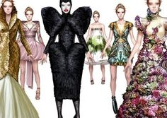 Antonio Soares for Alexander McQueen. Two of my favorites all rolled into one!