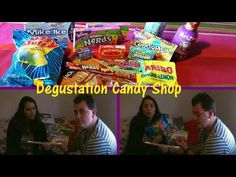 Degustation Candy Shop - YouTube