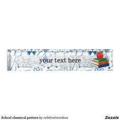 Sold #School #chemical #pattern desk #nameplate #teacher Available in different products. Check more at www.zazzle.com/celebrationideas