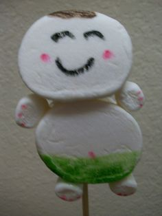 Marshmallow Babies... Baby Shower Edible Party Favors