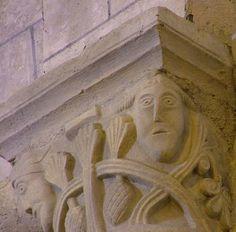 Chapiteau de l'église de Montbron