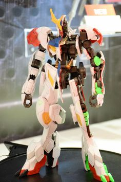 1/100 FULL MECHANICS GUNDAM BARBATOS LUPUS on display @ 56th All Japan Model Hobby Show 2016: NEW BIG SIZE IMAGES, INNER-FRAME TOO, Info release http://www.gunjap.net/site/?p=311806