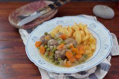 Albóndigas con verduras en Cookeo