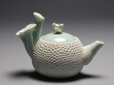 """Naoko Matsumoto, Coral Teapot X, from the series """"Pour the Ocean"""""""