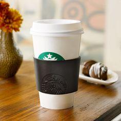 Starbucks® Reusable Cup Sleeve - Leather Siren. $4.95 at StarbucksStore.com