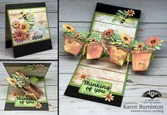 Twist Panel Flower Pot Pop-up Card