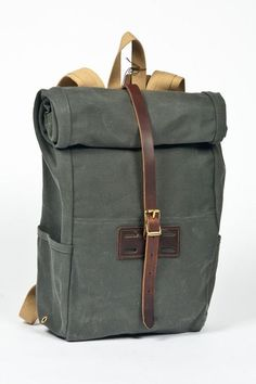 A day in the land of nobody Canvas Backpack, Backpack Bags, Leather Backpack, Leather Bag, Unique Backpacks, My Bags, Fashion Bags, Bag Accessories, Messenger Bag