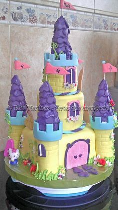 pasteles de disney | Pastel Castillo Princesas Disney