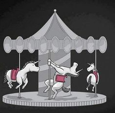 Work it unicorn girl! LOL